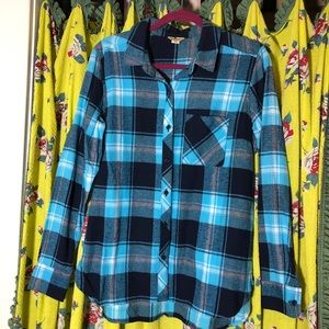 Woolrich Plaid Flannel Women's Shirt